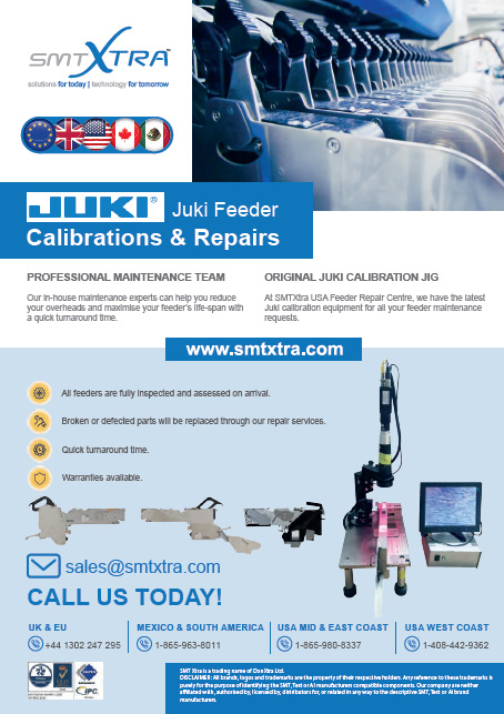 SMT Feeder Calibration and Repairs